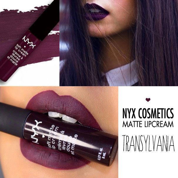 NYX Cosmetics Matte LipCream Transylvania - iGlow.no