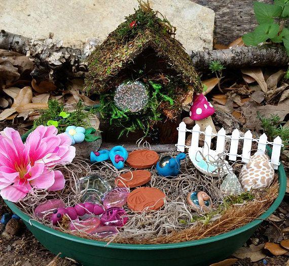 Fairy House Kit Fairy Garden Kit Fairy Garden Fairy Kit