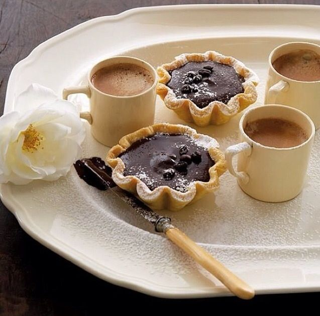 Woolworths South Africa - chocolate tarts and coffee