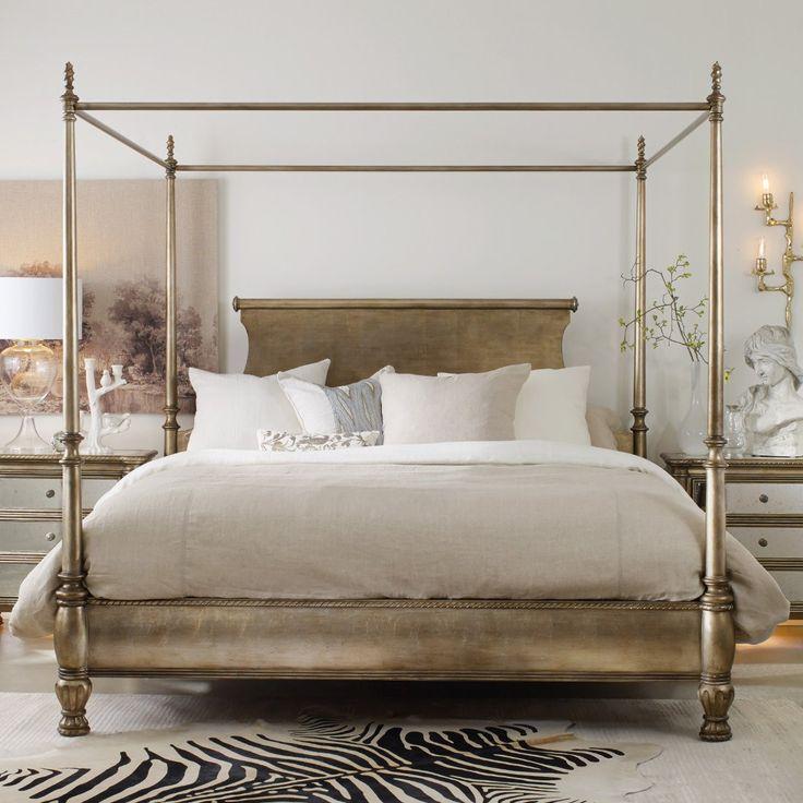 Hooker Furniture Melange Bedroom Montage King Canopy