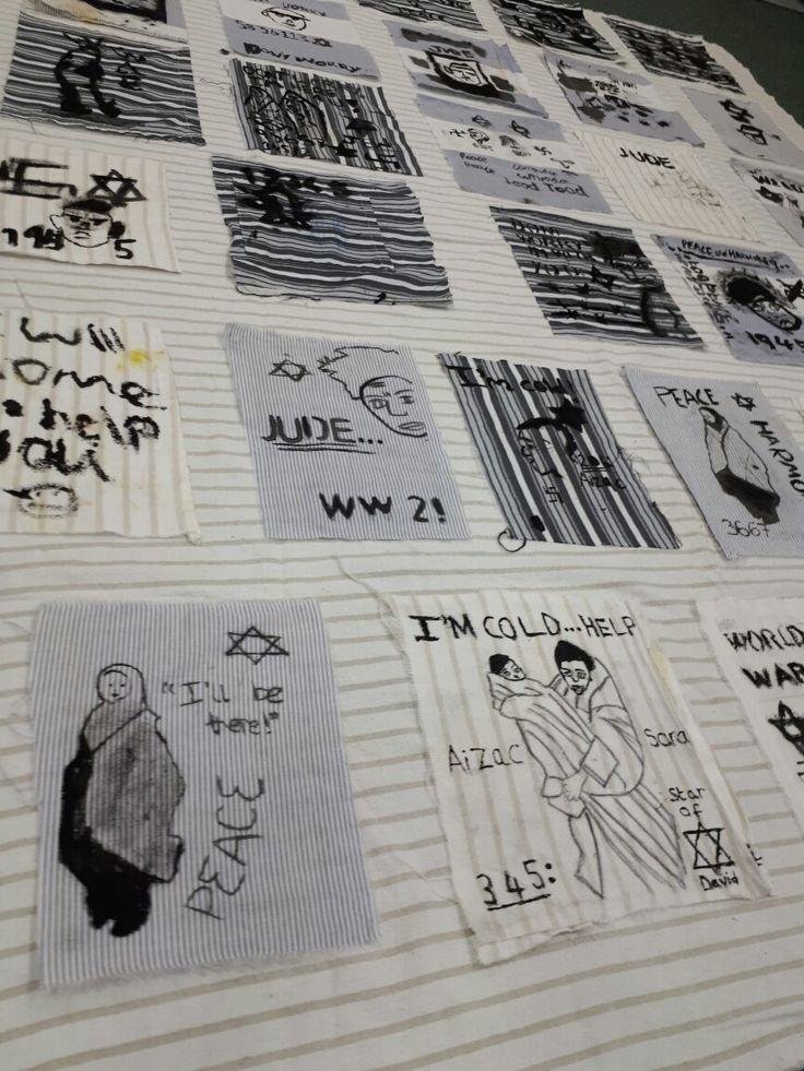 Holocaust quilt