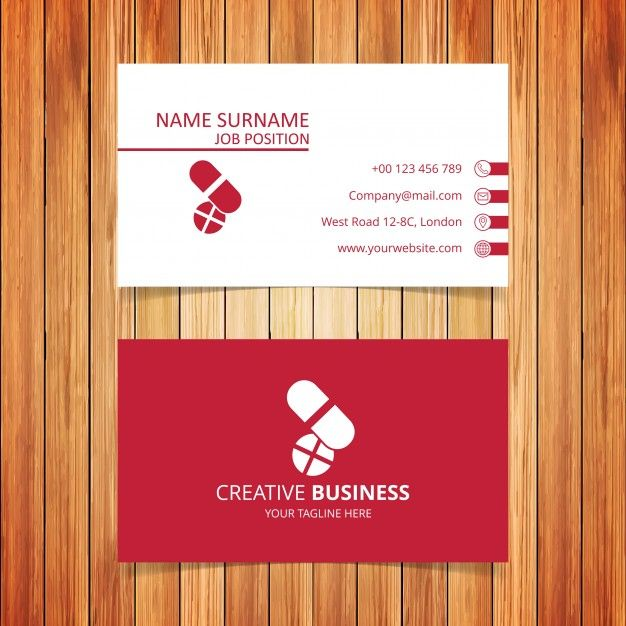 Download Pharmacy Business Card For Free Business Card Template Design Vector Business Card Business Cards Layout