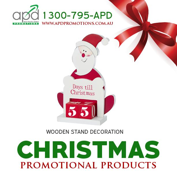 The countdown has begun! It's only 55 days until the happiest day of the year. Have you done your promotional products shopping yet? If not, please visit our website www.apdpromotions.com.au or call us at 1300-795-APD to check the latest corporate giveaways this holiday season.