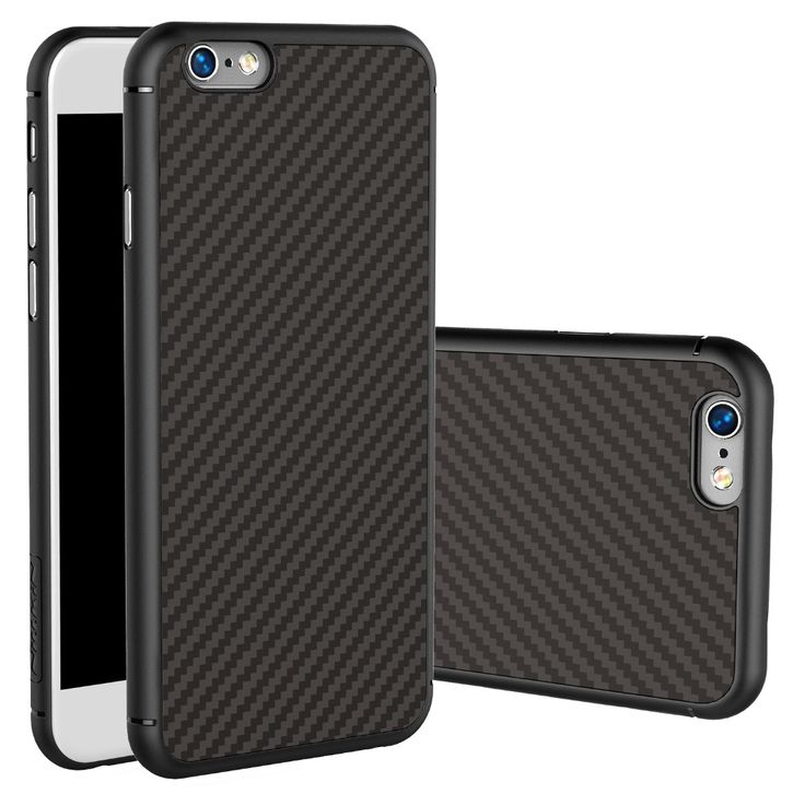 Phone Bag Carbon Fiber Case For iphone 6 plus Nillkin back cover iphone 6s plus case back shell for 6s plus display mobile case