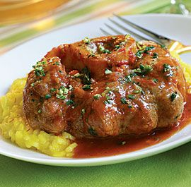 Fine Cooking Osso Buco recipe- Really great and a perfect dinner party food because you can make it ahead of time.