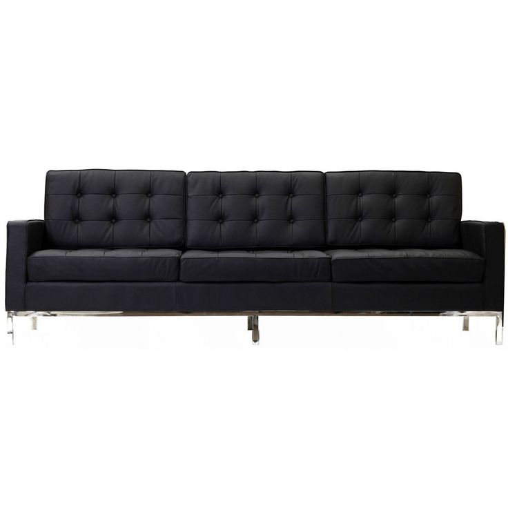 Modern Black Leather Sofa 34 best Black