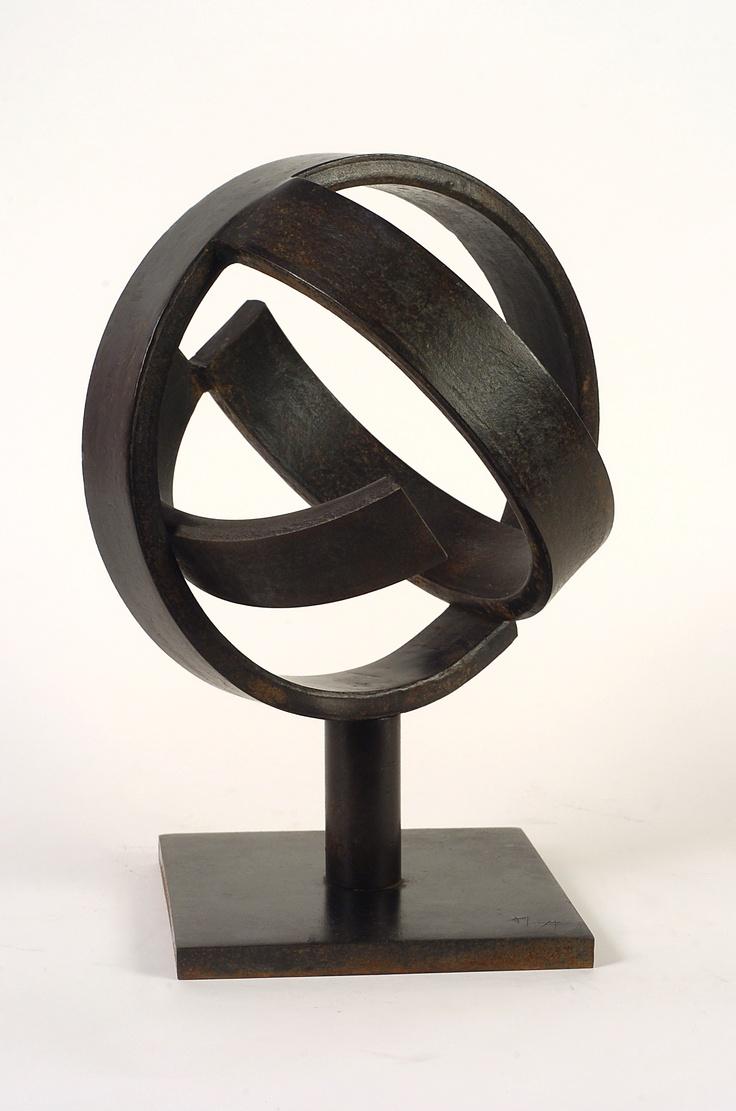 Jorge Oteiza Desocupación de la esfera (Versión B para Mondrian), 1958