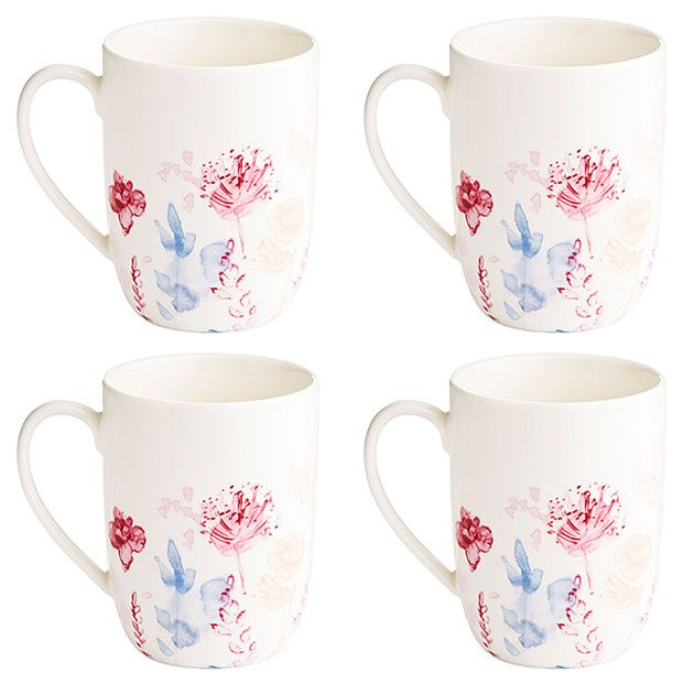 Meadow Set of 4 Mugs | Target Australia