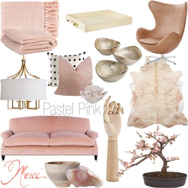 Pastel Pink   Fall 2014 By Rachaelselina On Polyvore Featuring Interior,  Interiors, Interior Design Part 46