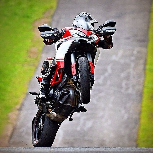 Ducati Multistrada Pikes Peak 1200 S #Motorcycledreams #Ducati #DucatiUsa #DucatiMotor #Multistrada #Multistrada1200S #pikespeak #Wheelie by motorcycledreams
