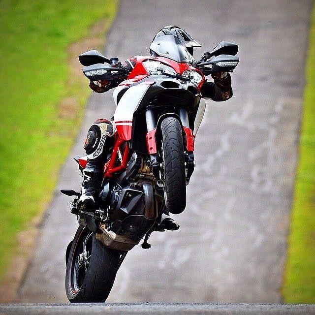 Ducati Multistrada Pikes Peak  1200 S  #Motorcycledreams #Ducati #DucatiUsa #DucatiMotor #Multistrada #Multistrada1200S #pikespeak #Wheelie by motorcycledreams