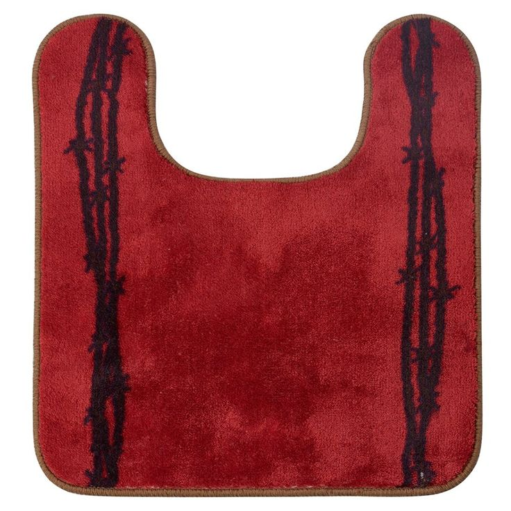 Best Red Bathroom Rugs Images On Pinterest Red Bathrooms - Rubber backed bath mats for bathroom decorating ideas