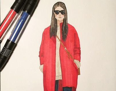 """Check out new work on my @Behance portfolio: """"Markers sketch"""" http://be.net/gallery/31547981/Markers-sketch"""