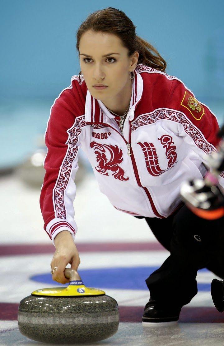 russian women curlers
