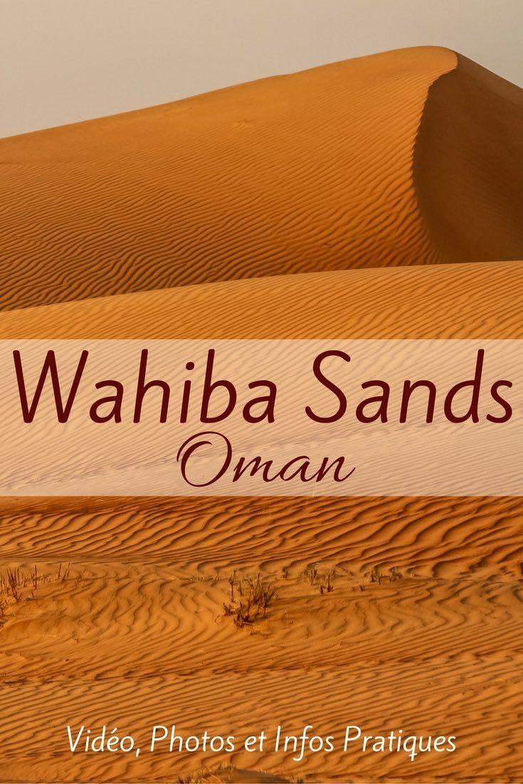 Découvrez les magnifiques dunes de sable du désert de Wahiba Sands Oman - Plein de photos au coucher et lever de soleil, une vidéo et des infos pratiques pour planifier votre visite y compris les Desert Nights camps. http://zigzagvoyages.fr/wahiba-sands-oman/