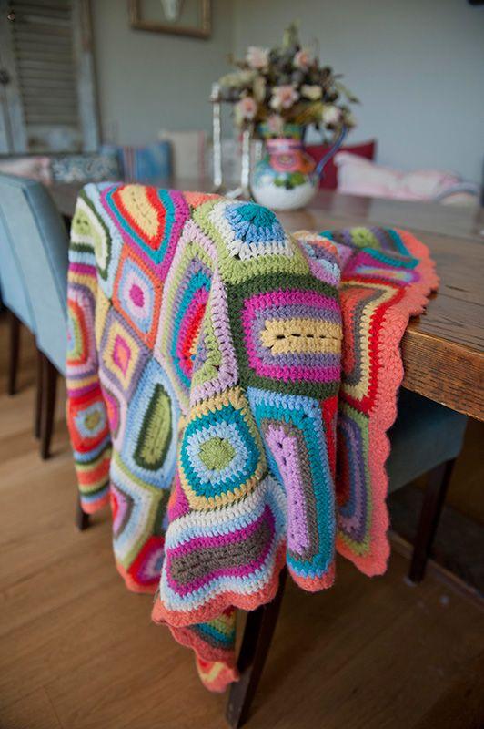 As seen on @offspringonten - Weegoamigo Nora Crochet Blanket