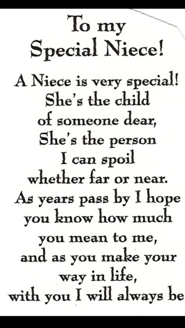 essay about my niece I love my niece quotes | niece graphics and comments  hsc consumer law essay the awards feature some of the most respected awards and opportunities available to .