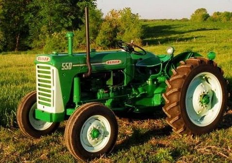 tractor oliver 550 manual pdf