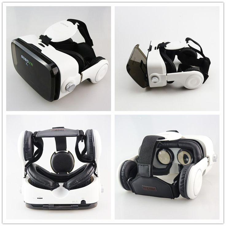 Original BOBOVR Z4 Leather 3D Cardboard Helmet Virtual Reality VR Glasses Headset Stereo Box BOBO VR for 4-6′ Mobile Phone – Trade996