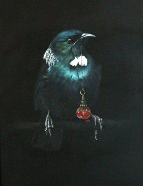 TUI AND RUBY PENDANT BY JANE CRISP