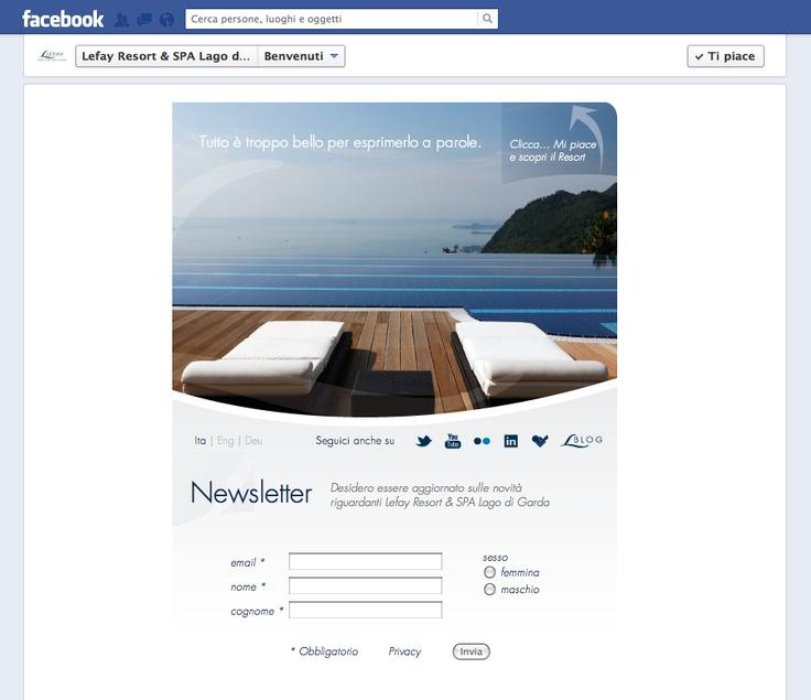 La welcome #tab realizzata per @Lefay Resorts , #spa sul #LagodiGarda
