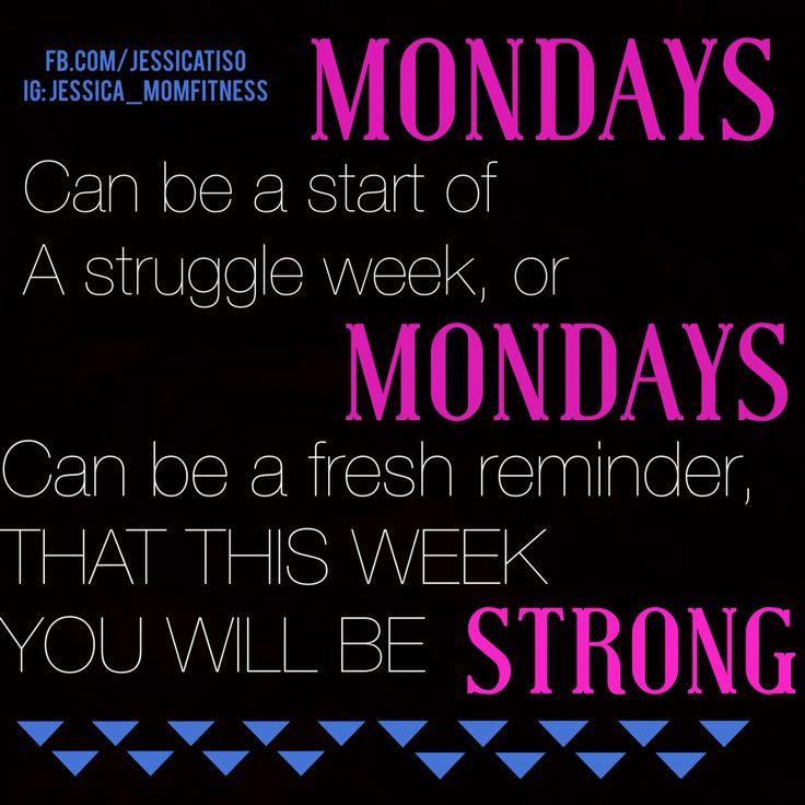 Monday Workout Motivation Quotes: 1000+ Ideas About Monday Fitness Motivation On Pinterest