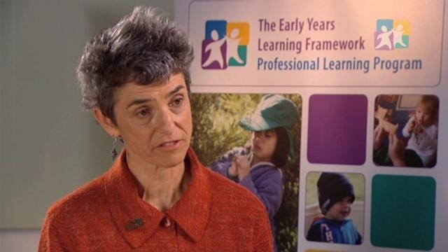 EYLF PLP Talking About Practice - Reflecting on Practice Video - Part 4 of 4 by Early Childhood Australia. Part 4 of 4 - This is the third video in the 'Talking about practice' series, designed to support discussion and reflection about the Early Years Learning Framework (EYLF) and its relationship to what educators in varied settings currently think, plan and do. The series is intended for use in conversation between early childhood educators, whether in teams or as a whole staff, or…
