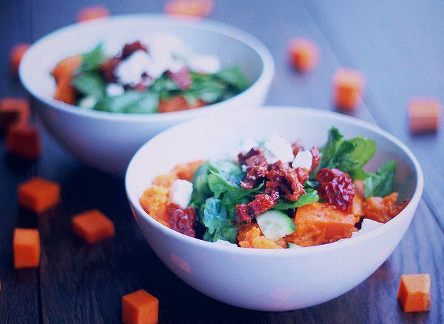 Теплый салат с тыквой в кокосовом молоке | Salatshop ♥ You