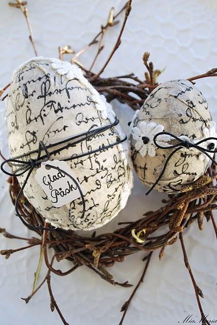 .Nice craft idea for those who don't like chocolate.