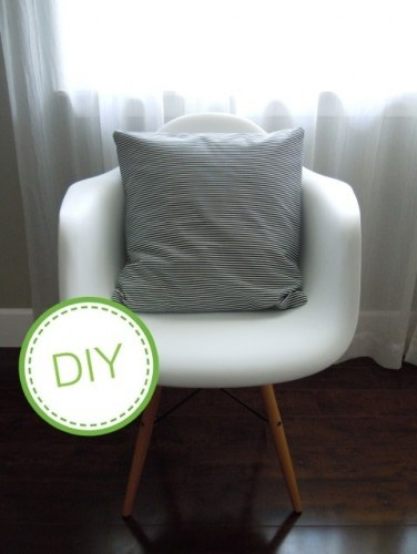super easy pillow covers