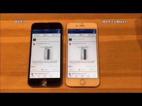 iOS 9.3.2 vs iOS 9.3.3 beta1. il più veloce è....   TUTTO FACEBOOK