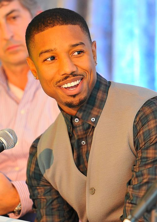 Michael B. Jordan, star of FRUITVALE STATION, at the Film Society's 2013 Fall Celebration. Photo by Steve Jennings/WireImage.