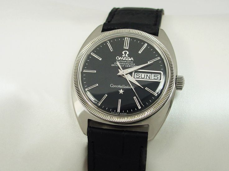 1969 OMEGA CONSTELLATION CERTIFIED CHRONOMETER WITH DAY & DATE