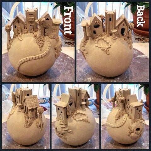 Clay sphere village 2