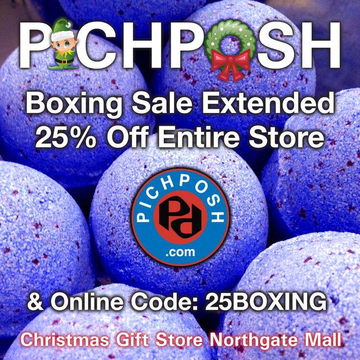 Boxing Sale Extended till Tuesday - 25 percent off everything !!!  Sale pricing until December 31, 2013. Website orders as well.  PICHPOSH  Christmas Gift Store - Northgate Mall Regina Saskatchewan ★★★New Location★★★ Down from the Target Mall Entrance.  Retail Store open until 4:00 pm December 31st, 2013. #boxingdaysale #northgatemall #regina #bathandbody #shopping #pichposh
