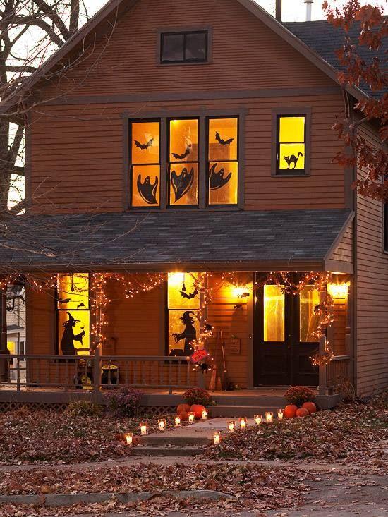 ...  Silhouettes Dhalloween, Halloween et Sorcières Dhalloween