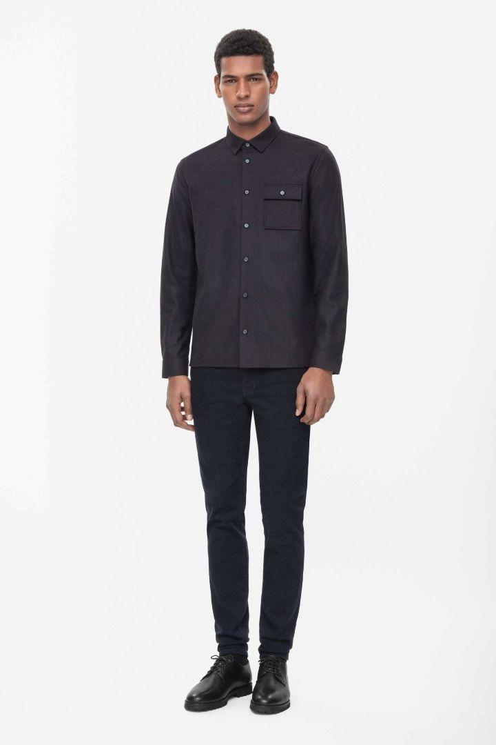 COS   Wool shirt