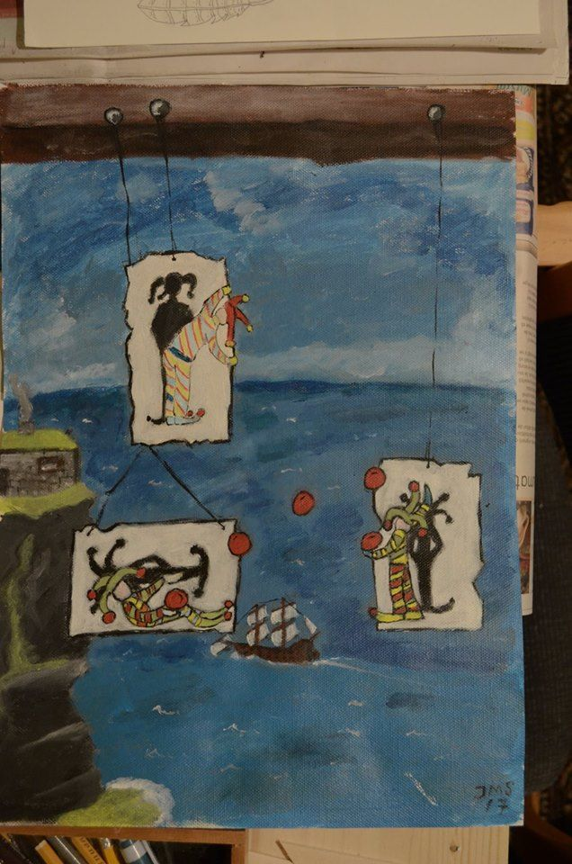 The Jokers and the sea by JMS