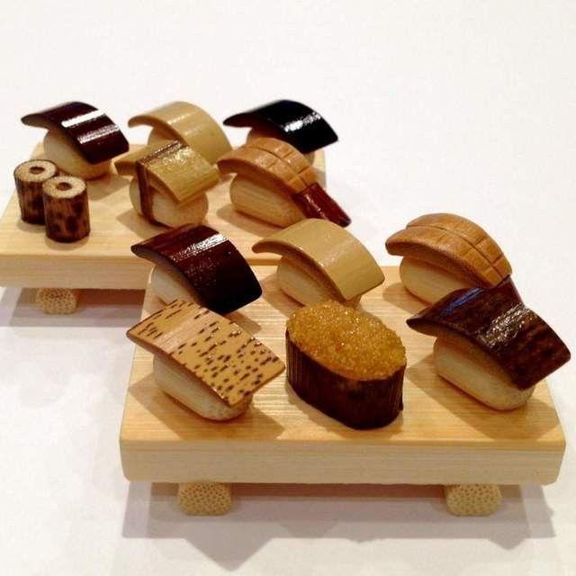 竹の温もり~握り寿司2種セット - ひだまり竹工房 iichi店