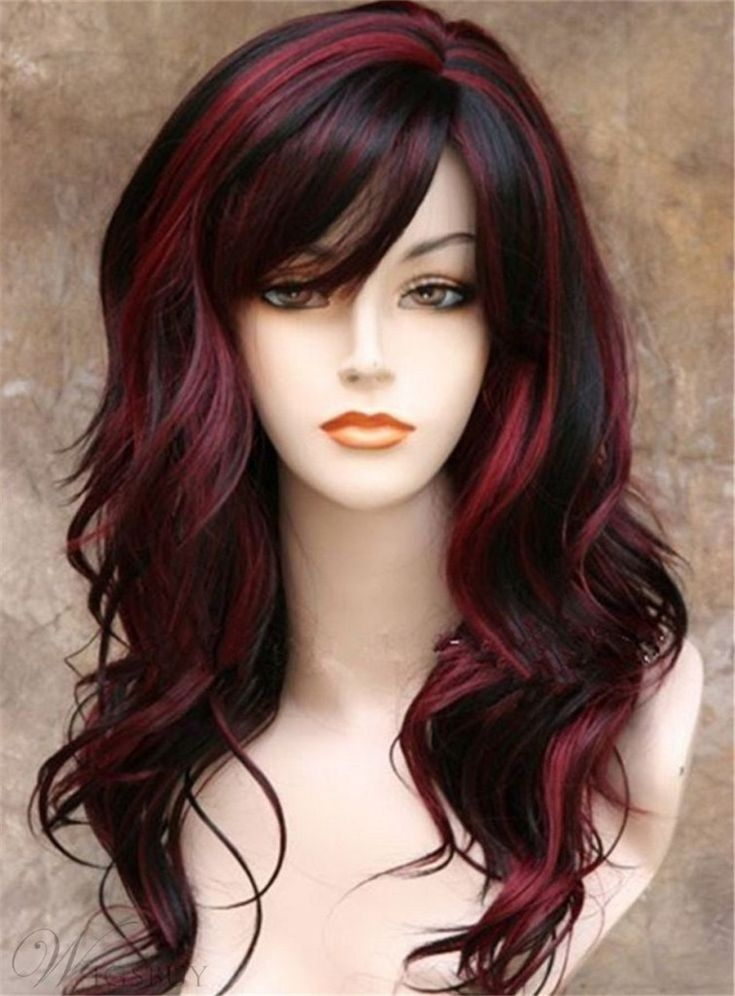 30 fantastic red and black hair color ideas for bold