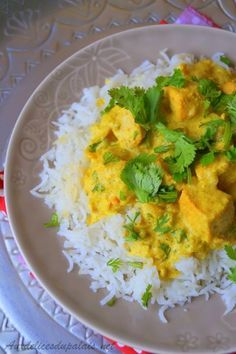Photo of Salmon curry with coconut milk