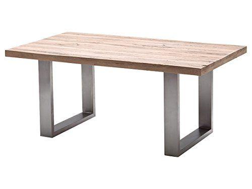 91 couchtisch eiche rustikal wohnzimmertisch designmore for Esszimmertisch aus granit