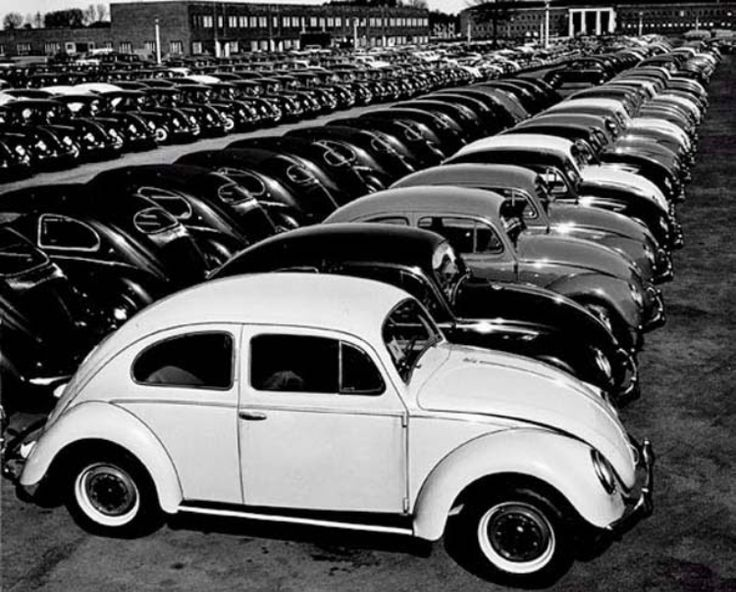 In 1953, photographer Peter Keetman spent a week at a Volkswagen factory in Wolfsburg, Germany, emerging with a collection of remarkable ima...