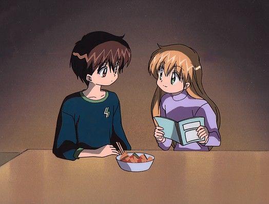 UFO Baby. Feel good hilarious and adorable show! Miyu and Kanata