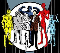 This was my favorite comic book as a kid growing up in the 60s. Metal Men - Wikipedia, the free encyclopedia