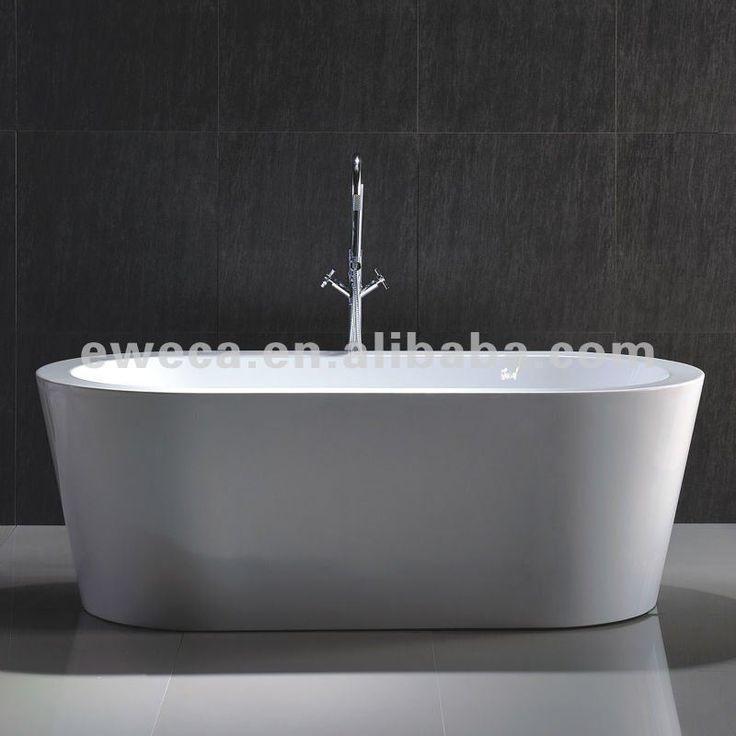 Hot Sale 1500mm Cheap Oval Acrylic Freestanding Bathtub $240~$500