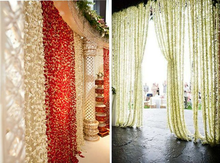 65 wedding decor ideas inspiration india indian for Artificial flowers for home decoration india