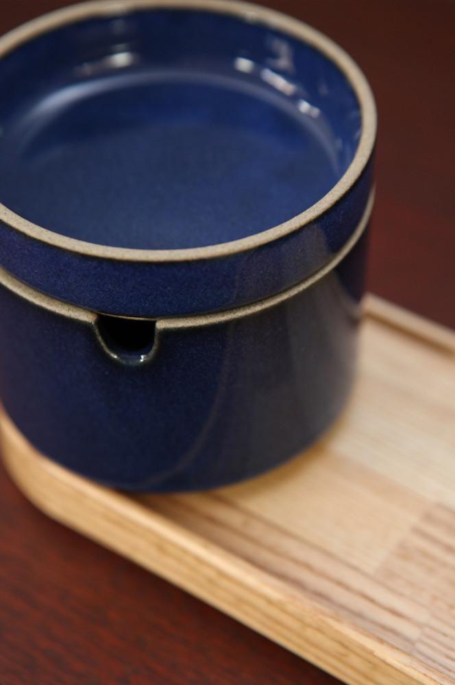 Hasami Porcelain Blue Sugar Pot – Forest London