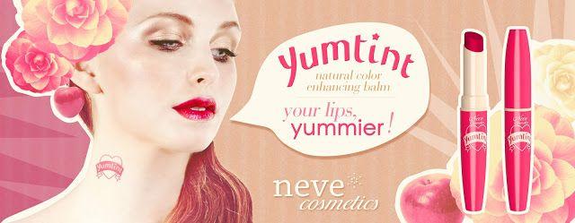 Sweety Reviews: [CS] Yumtint! Il rosso fragola di Neve Cosmetics che intensifica il colore delle labbra