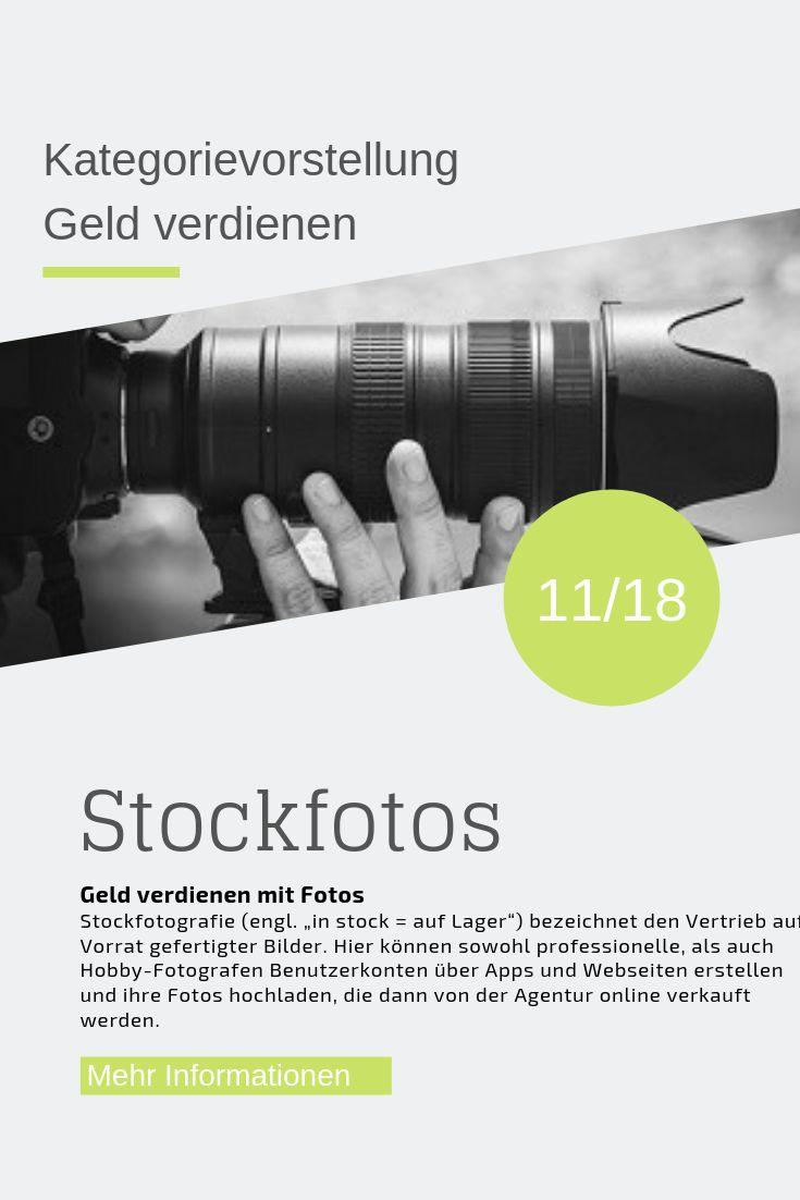 Geld verdienen mit Stockfotos   Stockfotografie, Fotos ...